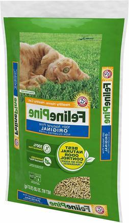 Feline Pine 100% Natural Pine Original non-clumping Cat Litt