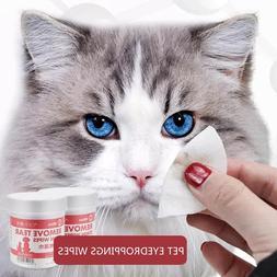 100PCS/Set Pets Dog <font><b>Cats</b></font> Eyes Drop Wiper