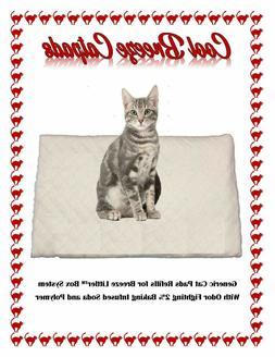 200 Cool Breeze Litter box Cat Pads Generic Breeze Litter Bo
