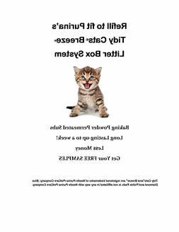 40-Pishie Cat Generic Pads for Cat Litter Box System w Bakin