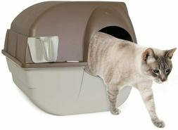 """16.5"""" Omega Paw Roll 'n Clean Self Cleaning Litter Box  free"""