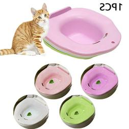 1Cat Toilet Training Kit Cleaning System Pets Kitten Potty U