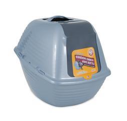 Arm & Hammer 22099 Hooded Litter Pan, Jumbo, Blue