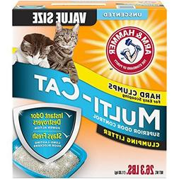26.3-Lb, Unscented Extra Strength Multi-Cat Clumping Litter
