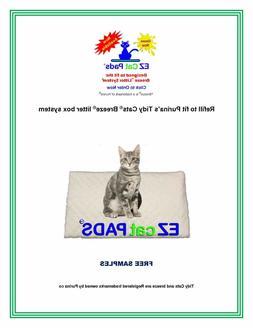 "40 EZ Cat Refill Pads for 16.9""x11.4"" Cat Litter Box Systems"