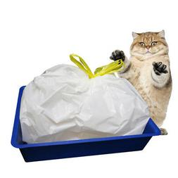 7PC/Bag Cat Litter Box Liners Pan Liner Heavy Duty Pet Litte