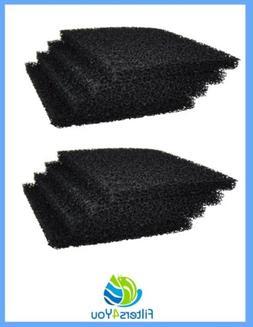 8 PCS Cat Litter Box Replacement Filter Carbon Odor Filters