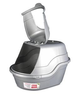 Nature's Miracle Hooded Flip Top Litter Box, Oval, With Od