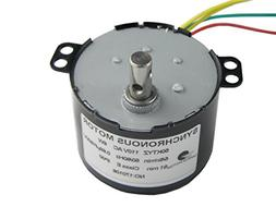 AC 110-130V 5/6RPM 50K Robust Synchronous Motor Geared Motor