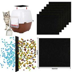 Activated Carbon Filters Cat Litter Boxes Charcoal Filter Pa