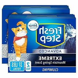 Fresh Step Advanced Extreme Clumping Cat Litter with Odor Co