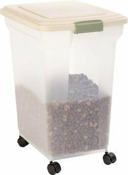 IRIS Premium Airtight Pet Food Storage Container, 55-Pounds