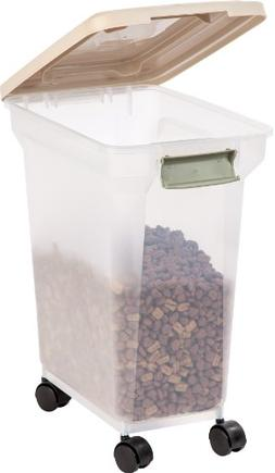 IRIS Premium Airtight Pet Food Storage Container, 22-Pounds