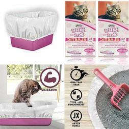 AlfaPet Kitty Cat Elastic Cat Pan Liners