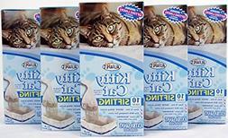 Kitty Cat Alfapet Sifting Litter Box Liners- 10 Per Box Plus