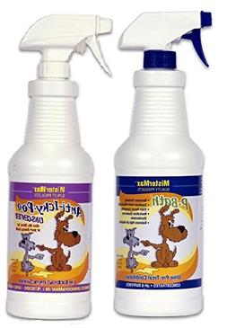 "Anti Icky Poo ""Unscented"" Odor & P-Bath Pre-Treater Combo Qu"