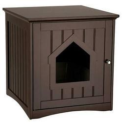 Apartment Kitty Litter Box Hidden Enclosure Cat Privacy Desi
