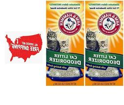 Arm & Hammer Cat Litter Deodorizer with Activated Baking Sod