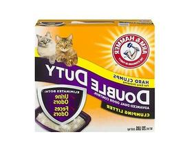 Arm & Hammer Double Duty Clumping Cat Litter, 20-lb
