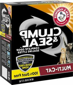 Arm & Hammer Litter Clump & Seal Multi-Cat Scented Clumping