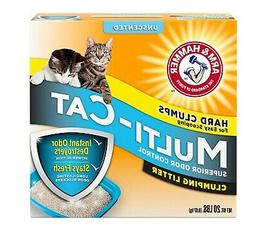 Arm & Hammer Multi Cat Unscented Clumping Cat Litter Heavy D