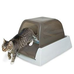 Auto Litter Box Kitty Cat Tray Self Cleaning Crystal Automat