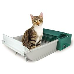 Automatic Cat Litter Box Pet Zone Smart Scoop Feline Supplie