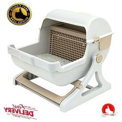 automatic quick cleaning cat litter box Luxury cat toilet