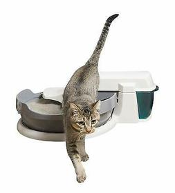 automatic self cleaning cat litter box clumping
