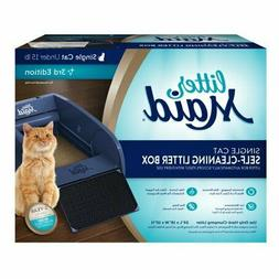 Automatic Self Cleaning Classic Cat Litter Box Removes Waste