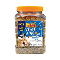 NEW Purina Friskies Party Mix Beachside Crunch Shrimp Crab T
