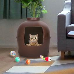 Best Cat Litter Box Hidden Extra Large Enclosure Furniture D