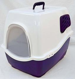 SEALED NEW Marchioro Bill 1F Covered Cat Litter Pan Box w/Fi