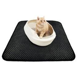 Double-Layer Cat Litter Mat Pet Kitten Trapper Dirt Catcher