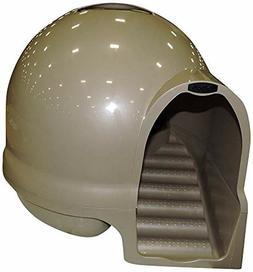 Petmate Booda Dome Clean Step Cat Kitty Litter Box Nickel Br