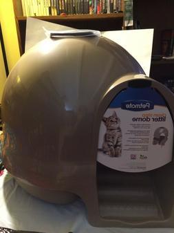 Petmate Booda Dome Clean Step Cat Litter Box Titanium Free S