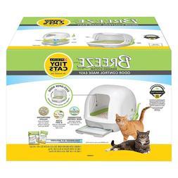 Purina Tidy Cats BREEZE Cat Litter Box System, Fast Shipping