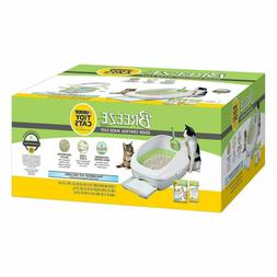 Purina TIDY CATS BREEZE Cat Litter Box System White and Gree
