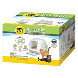 Purina Tidy Cats BREEZE Hooded Cat Litter System Self Cleani