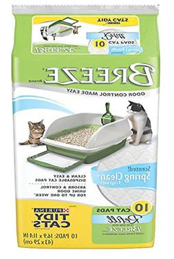 Tidy Cat Breeze Refill Pads Spring Clean Scent 10pk 1-Pack