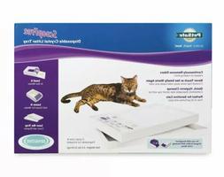 ScoopFree by PetSafe Cat Litter Box Tray Refills with Sensit