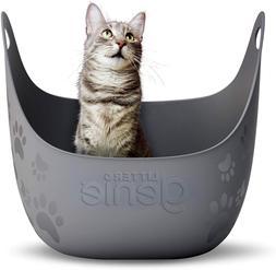 caja de arena para gatos liter cat box arenero gato limpieza