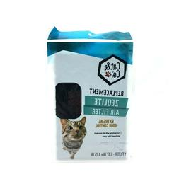 Cat & Co.Replacement Zeolite Air Filter Extreme Odor Control