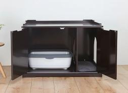 Cat House Extra Large Litter Box Enclosure Furniture Hidden