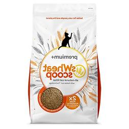 sWheat Scoop Premium Cat Litter, 36 lb