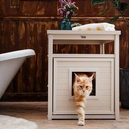 Cat Litter Box Cover Durable Eco -  Friendly Furniture In An