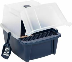 Cat Litter Box Covered Tray Kitten Extra Large Enclosed Hood