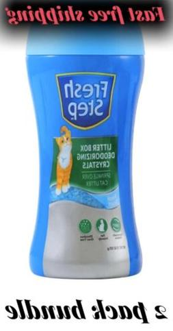 Fresh Step Cat Litter Box Deodorizing Crystals Litter Box Od
