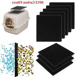 Cat Litter Box Filter Deodorant Pad Activated Carbon Fiber P
