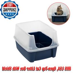 Cat Litter Box Pet Enclosure Kitty House Furniture Cats Indo